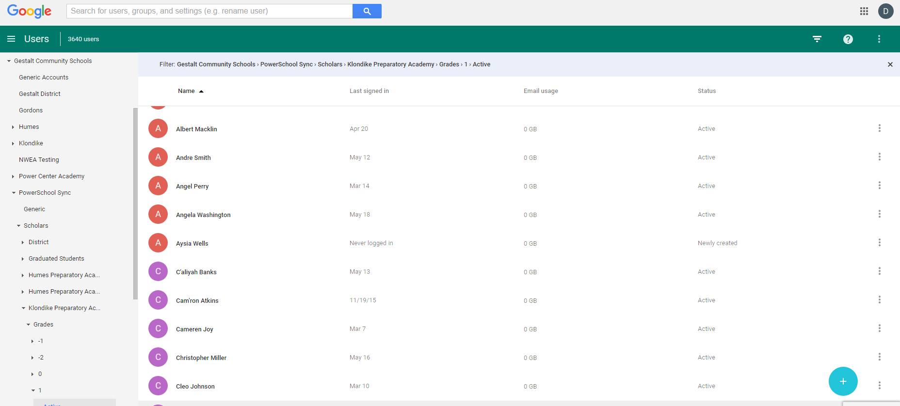sync PowerSchool and Google Classroom