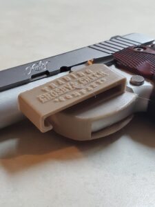 Angled View of Standard IWB Holster