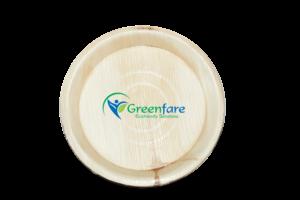 Environment friendly biodegradable Areca Leaf plate