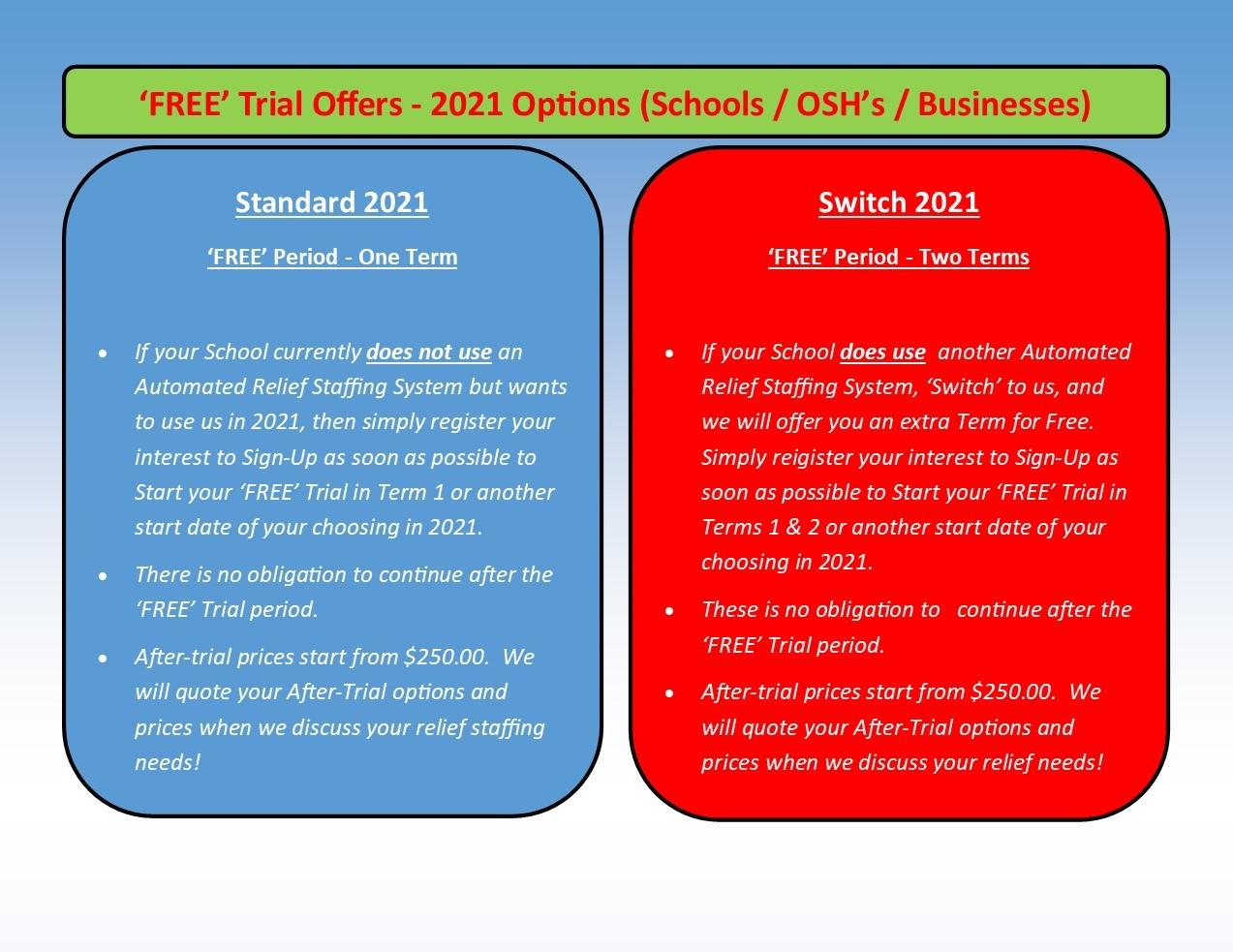 RSM - S 'General' Free Offer 201213