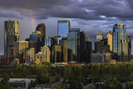 Calgary clear skies