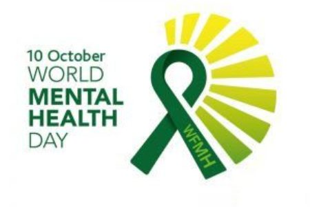 World Mental Health Day on October 10th Logo