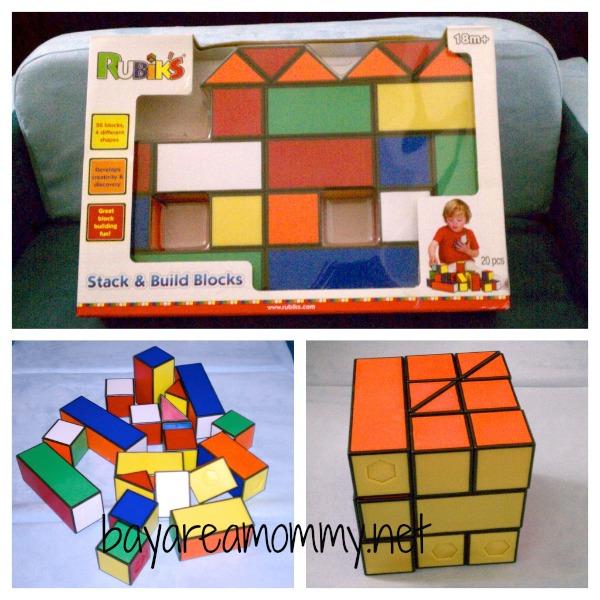 Rubiks Stack & Build Blocks