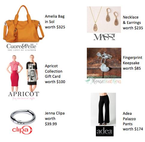 Spring Fashionista Prizes