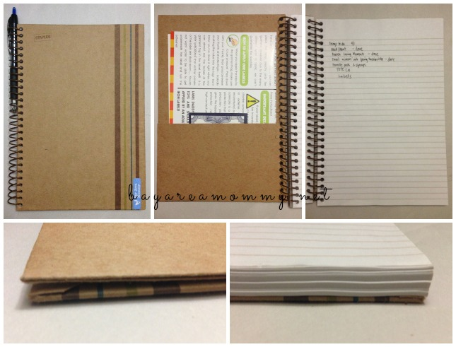 Sustainable Earth by Staples Notebook Smaller