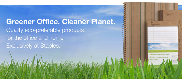 Sustainable Earth by Staples
