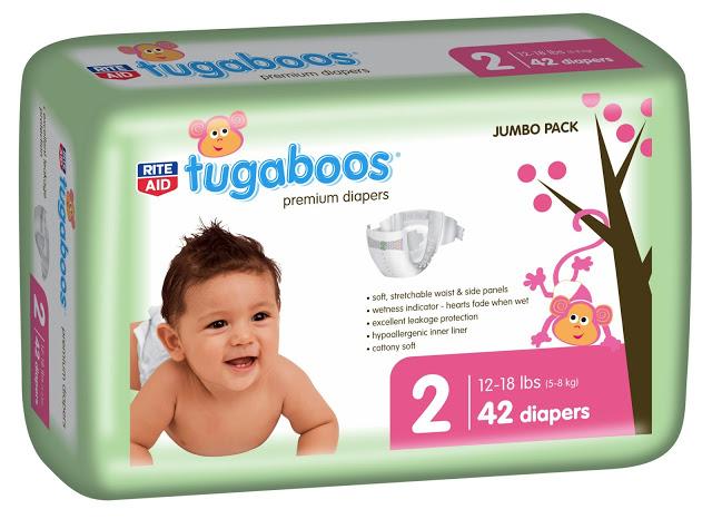 Rite Aid Tugaboos Diaper
