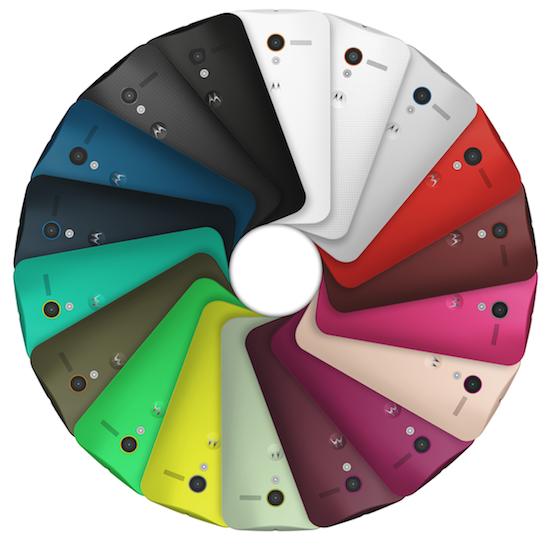 Moto X Color Pinwheel