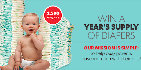 Red Tricycle Diaper Giveaway