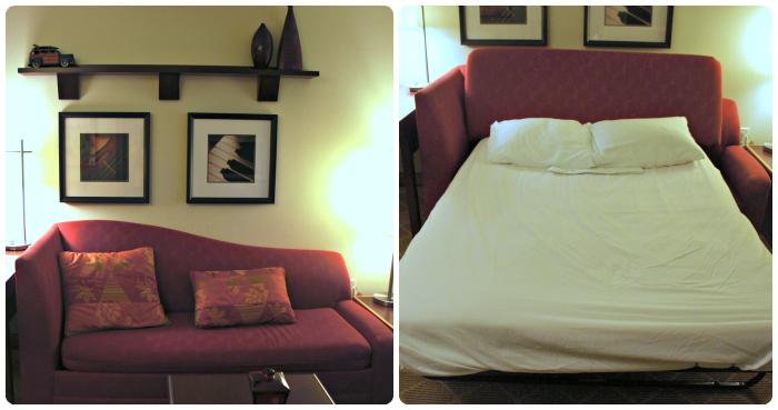 Residence Inn Burbank - Sofabed