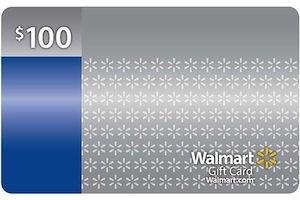 100 Walmart GC
