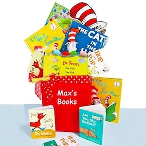 Dr Seuss Library Gift Basket