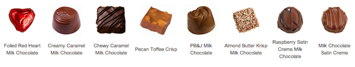 Ethel M Chocolates - What's Inside Milk Chocolate Collection