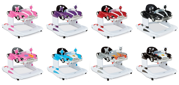 Combi All-in-One Activity Walker Color Options