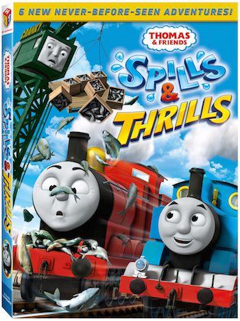 Thomas And Friends: Spills & Thrills