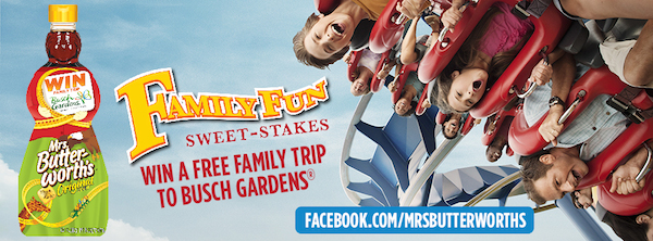Mrs Butterworth's Family Fun Sweet-stakes