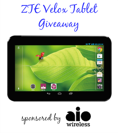 Velox Tablet Giveaway