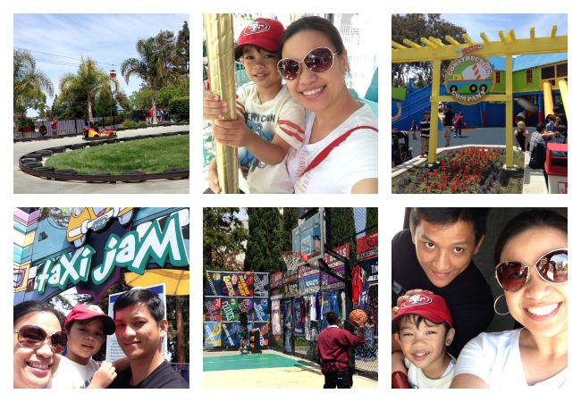 CA Great America with family