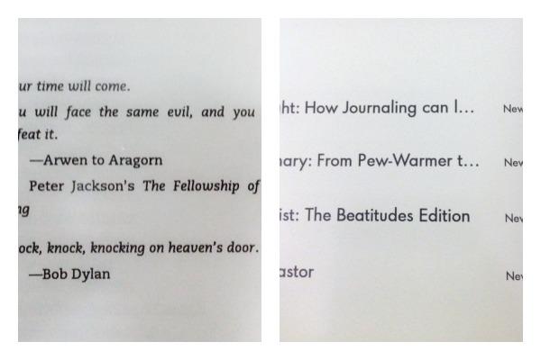 Kindle vs Paperwhite