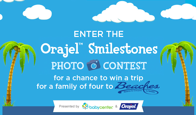 Orajel Smilestones Photo Contest