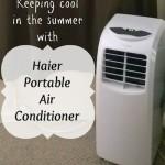 Haier Portable Air Conditioner Review #HaierAmbassador