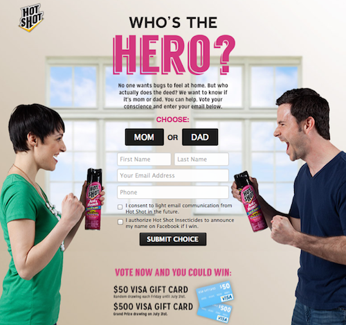 Hot Shot® Insecticides July Sweepstakes