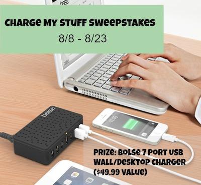 Charge My Stuff Sweepstakes