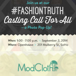 ModCloth #FashionTruth Casting Call For All