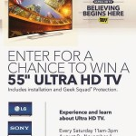 Best Buy Ultra HD In-Store Events Happening Now!