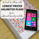 Lowest Priced Unlimited Plans Perfect For Your College Kid