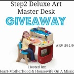 Step2 Deluxe Art Master Desk Giveaway