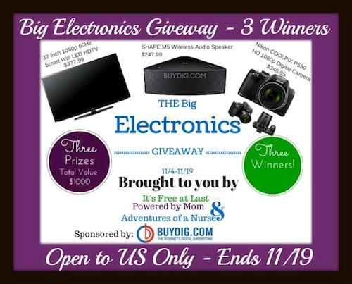 BuyDig Electronics Giveaway