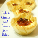 Baked Cheese And Bacon Jam Bites Using Lucerne Products At Safeway
