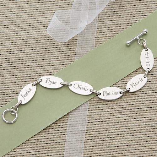 Personalization Mall Engraved Bracelet