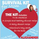 Valentine's Day Survival Kit For Mom
