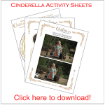 #Cinderella Activity Sheets