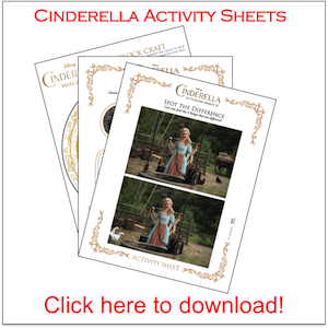 Cinderella Activity Sheets