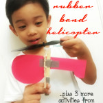 Create a Rubber Band Helicopter + 3 More Activities From Galileo
