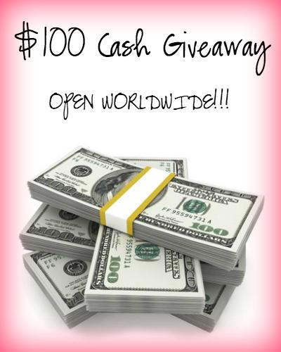 100 Cash Giveaway