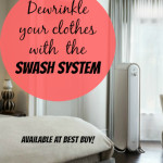Dewrinkle Your Clothes With Swash — Available At Best Buy!