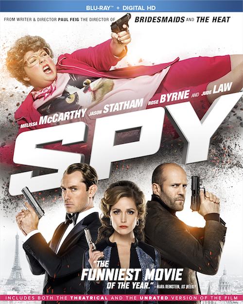 SPY BluRay