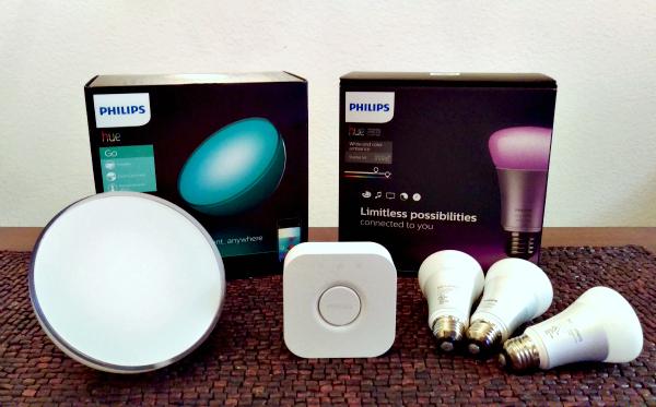 Philips Hue Go and Starter Kit