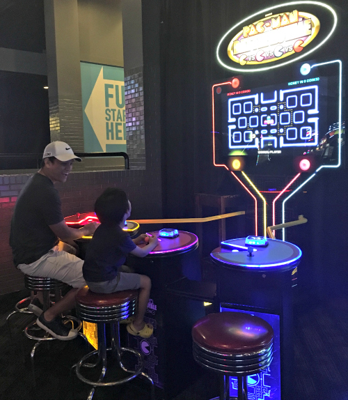 Dave & Busters Pacman Game
