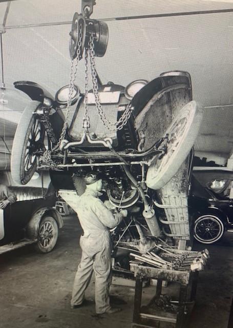 vintage truck repair