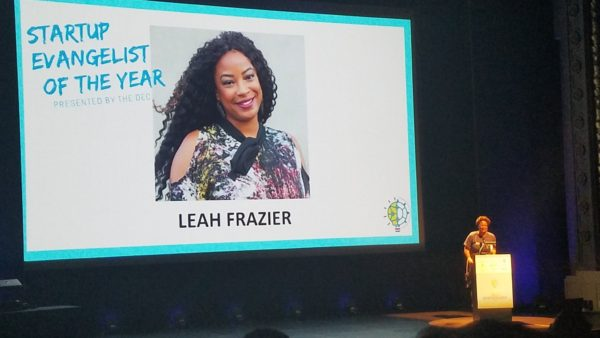Leah Frazier 2018 Dallas Startup Evangelist of the Year