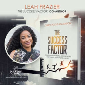 Leah Frazier The Success Factor