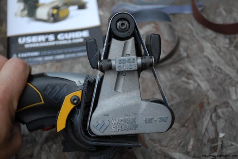 Cost-Effective Sanding Belts for the Work Sharp Ken Onion Knife Sharpener