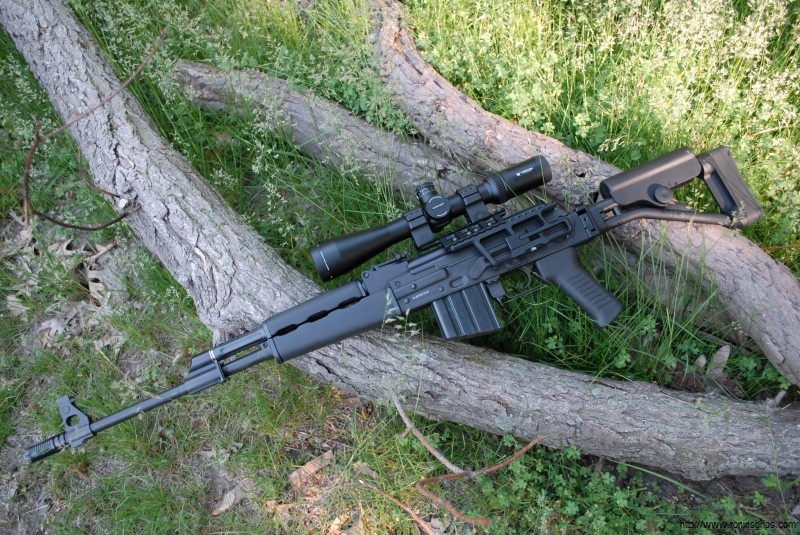 Added RS Regulate Mount and Vortex HS-T Scope to the Zastava M77
