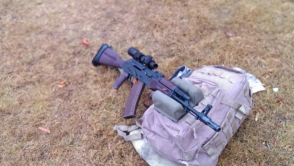 Tharin's Rifle – KVar US Plum Furniture and Our Dark US Plum Polish AKM/Tantal Grip