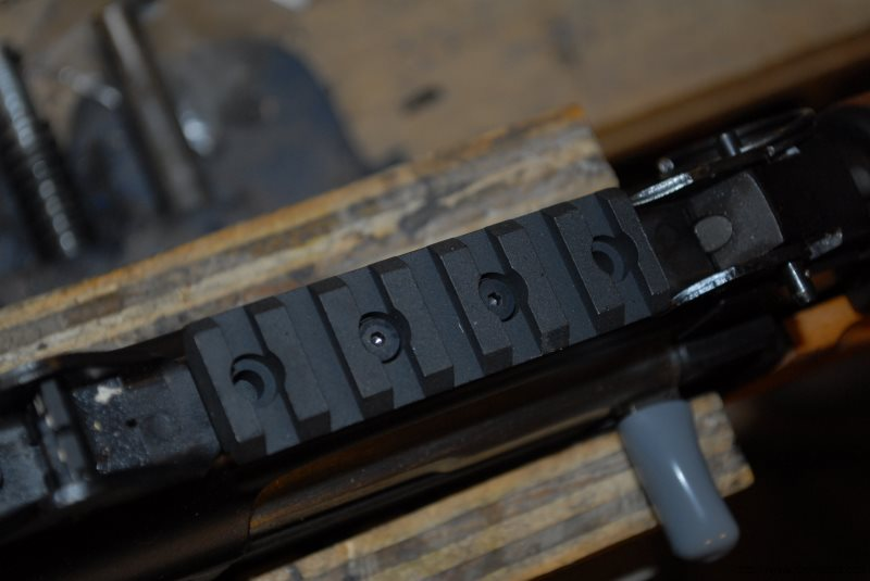 Installing the CNC Warrior Picatinny Rail Scope Mount for the M92 PAP Pistol